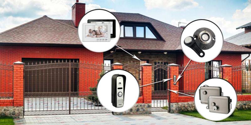 Домофон для приватного будинку